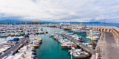 France, Cote dAzur, Antibes, marina