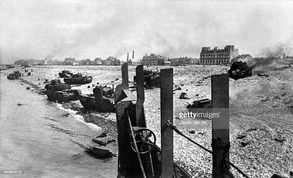 Why was the battle of dieppe a complete failure?