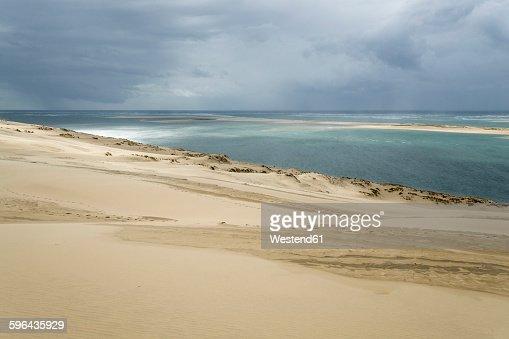 France, Dune of Pilat, tallest sand dune in Europe