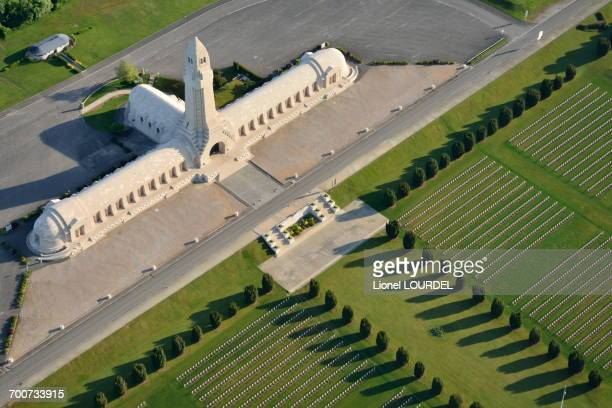 France, Eastern France, Lorraine, Meuse, Douaumont, Douaumont Ossuary, military cemetery of WWI