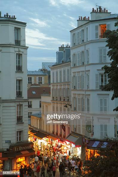 18th arrondissement stock photos and pictures getty images - Place saint pierre paris ...