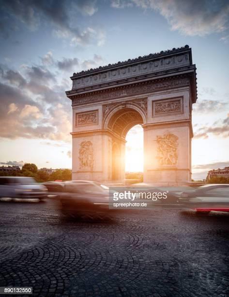France, Europe, Paris Arc de Triomphe de l'Étoile