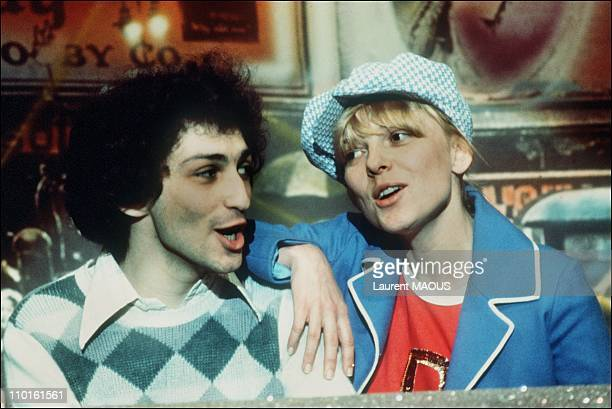 France Gall and Michel Berger in France
