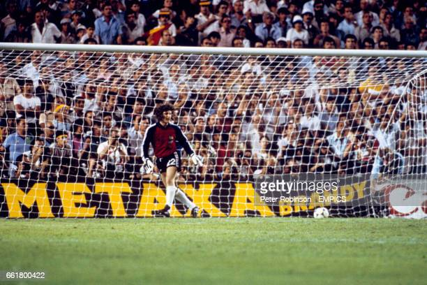 France goalkeeper JeanLuc Ettori moves the wrong way and is beaten for West Germany's winning penalty in the shootout that followed their 33 draw
