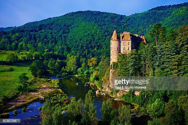 France, Haute Loire, Lavoute Polignac castle