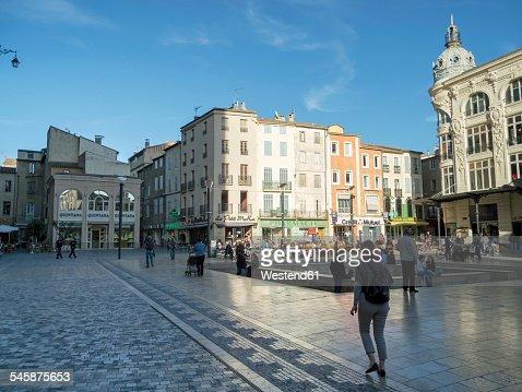 France, Haute-Garonne, Toulouse, public place