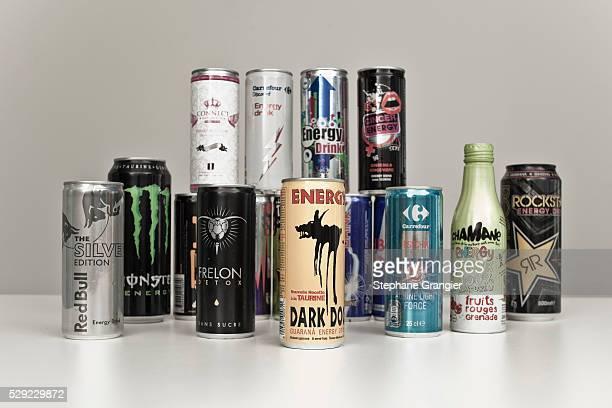 France - Illustration- Energy Drinks