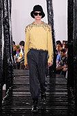 Loewe : Runway - Paris Fashion Week - Menswear F/W...