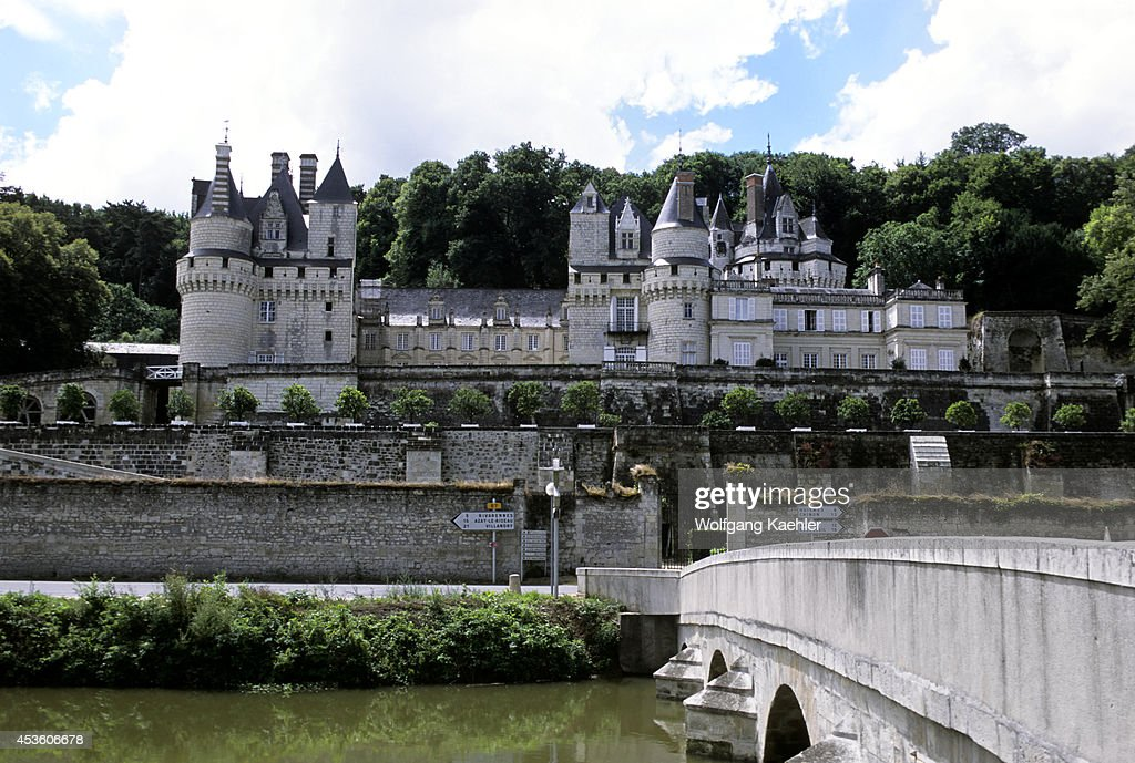 France Loire Region Near Chinon Usse Chateaux View Of Of Castle