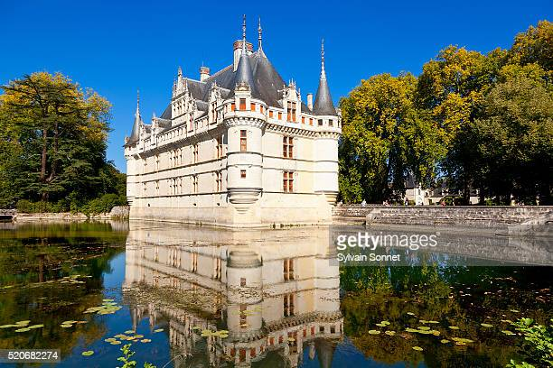 chateau d 39 azay le rideau photos et images de collection getty images. Black Bedroom Furniture Sets. Home Design Ideas