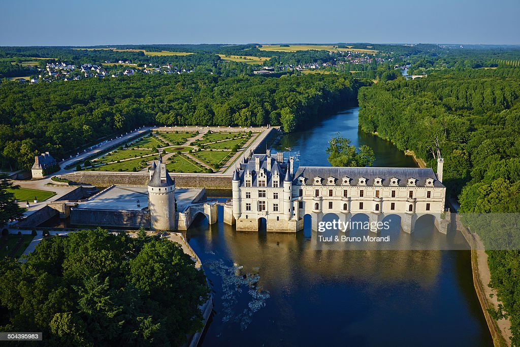 France, Loire valley,  Chenonceau Castle