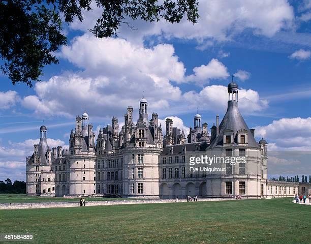 France Loire Valley Loire et Cher Chateau Chambord
