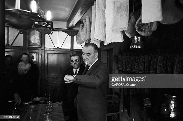 France March 1967 General Elections Vote Of Prime Minister Pompidou France 5 Mars 1967 1er tour des élections législatives vote du premier ministre...