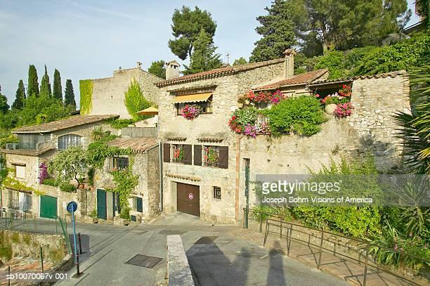 France, medieval village of Haut de Cagnes