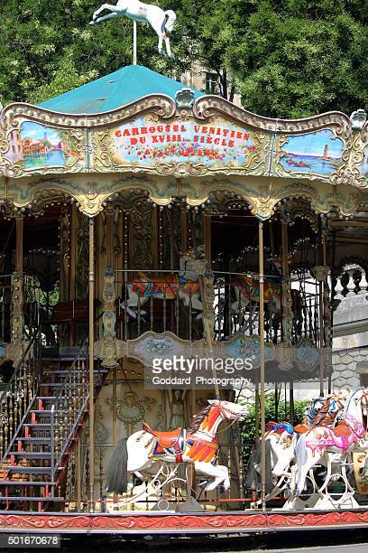 France: Merry-Go-Round at Montmartre