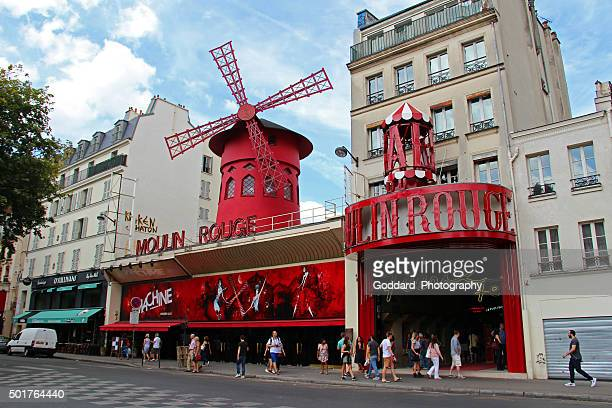 France: Moulin Rouge in Paris