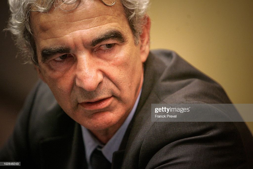 France national team coach Raymond Domenech attends a hearing in front of the country's politicians at the Cultural Affairs commission within the French National Assembly on June 30, 2010 in Paris. Domenech was accompanied by ex-French Football Federation (FFF) president Jean-Pierre Escalettes as the hearing was called to discuss the performance of the French team during the World Cup in South Africa, which resulted in failure to qualify out of the group stages amid scenes of confrontation and dispute, culminating in the expulsion of striker Nicolas Anelka from the squad followed by a refusal to take part in a training session led by team captain Patrice Evra.