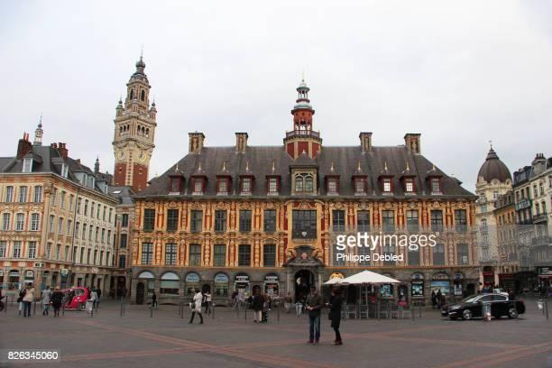 France, Nord-Pas-de-Calais, Lille, Général de Gaulle square