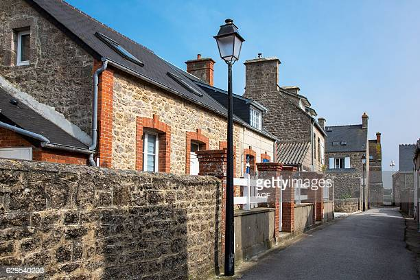 France Normandy Barfleur Old Houses In The Country Center