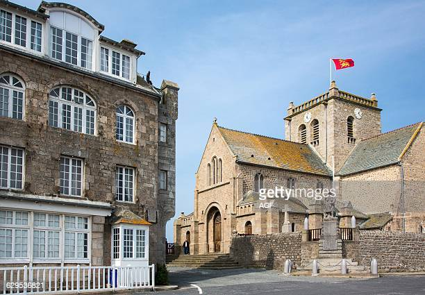 France Normandy Barfleur The Church In The Old Country Center