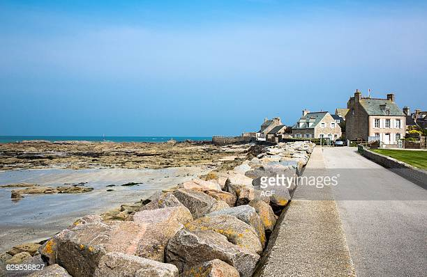 France Normandy Barfleur The Road To The Harbor