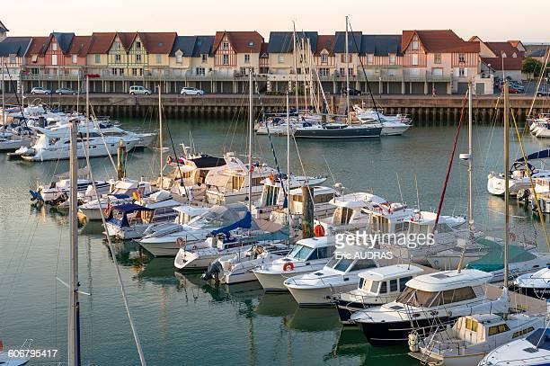 France, Normandy, Dives sur Mer, harbour