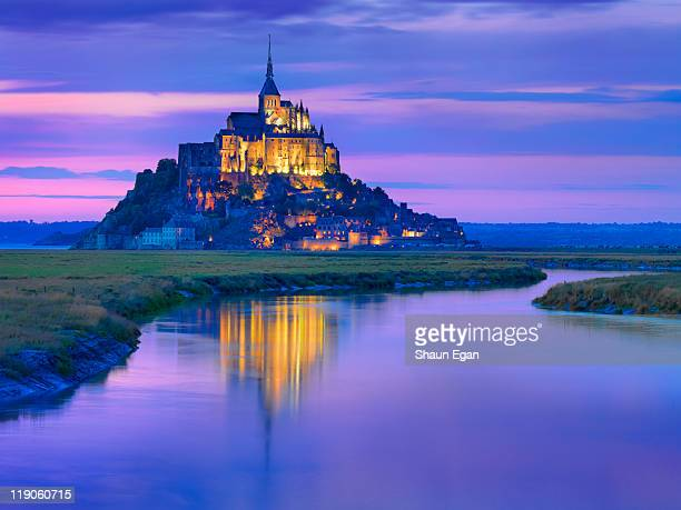 France, Normandy, Mont Saint Michel