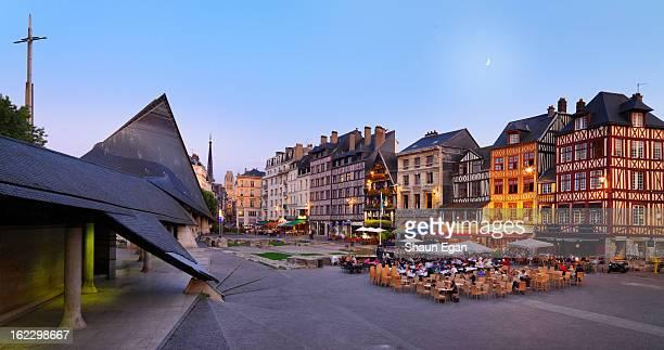France, Normandy, Rouen, Place du Vieux-Marche