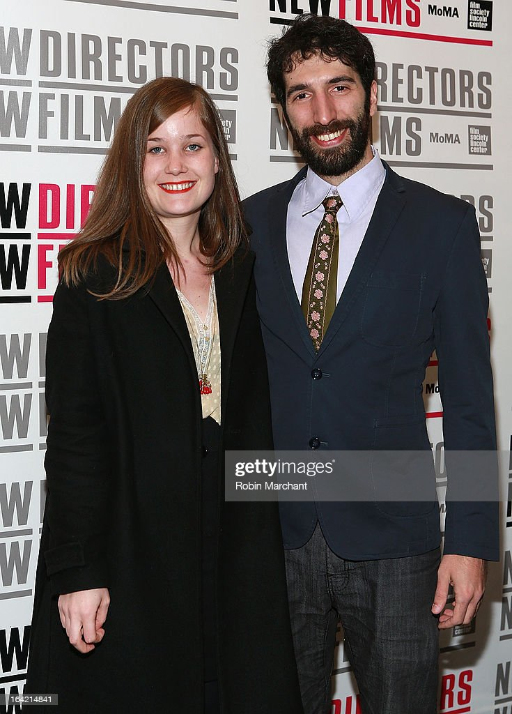 France Orsenne (L) and Santiago Gil attend the New Directors/New Films 2013 Opening Night screening of 'Blue Caprice' at the Museum of Modern Art on March 20, 2013 in New York City.