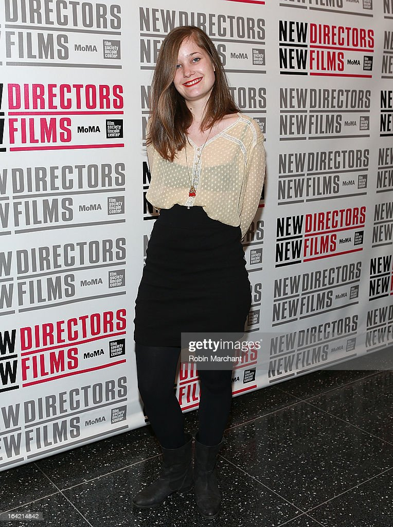 France Orsenne attends the New Directors/New Films 2013 Opening Night screening of 'Blue Caprice' at the Museum of Modern Art on March 20, 2013 in New York City.