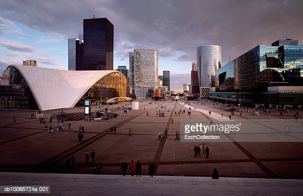France, Paris, cityscape of La Defence district
