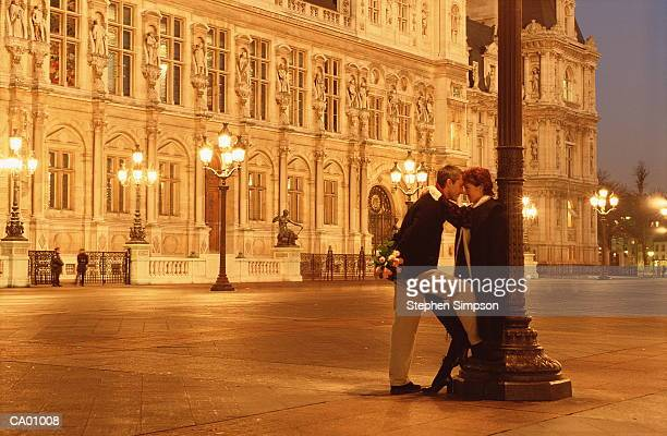 Hotel de ville paris stock photos and pictures getty images for Hotel couple paris