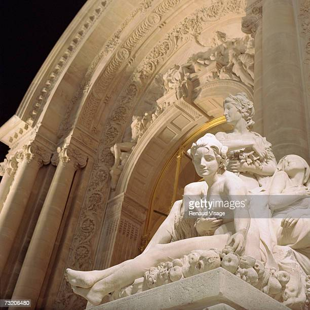 France, Paris, entrance to the Petit Palais