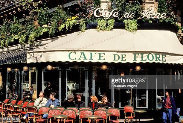 France Paris Exterior Cafe De Flore