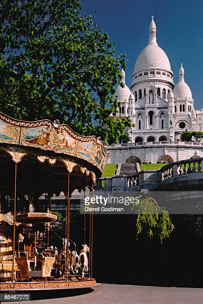 France - Paris - Montmartre Carousel