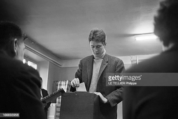 France Presidential Elections 1965 En France le 05 decembre 1965 le premier tour de la deuxième élection présidentielle au suffrage universel de la...