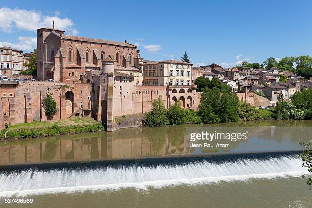 France, Tarn, Gaillac, Saint Michel abbey and Tarn