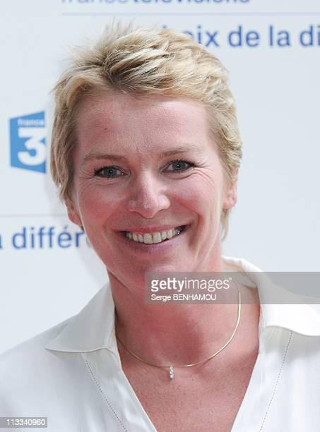 France Televisions Press Conference In Paris France On August 28 2008 Elise Lucet
