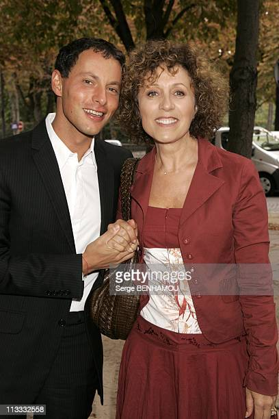 France Televisions Press Conference On September 5Th 2005 In Paris France Here Marc Olivier Fogiel And Mireille Dumas