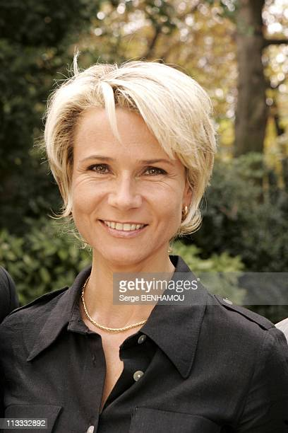 France Televisions Press Conference On September 5Th 2005 In Paris France Here Nathalie Rihouet