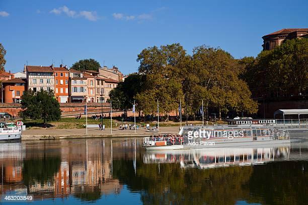 France, Toulouse, Garonne river, Daurade port