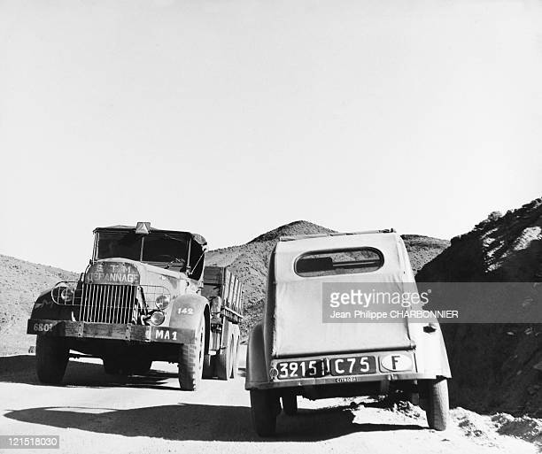 France Transport Breakdown Truck And Citroen 2Cv