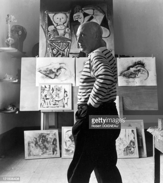 France Vallauris Pablo Picasso In September 1952