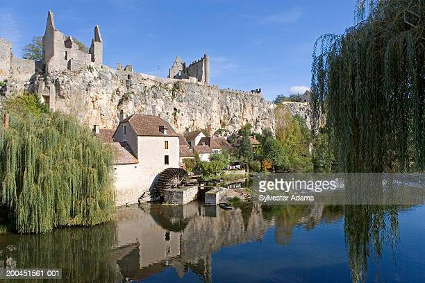 France, Vienne, Angles sur lAnglin, village on river