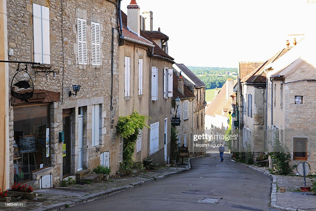 France, Vézelay : Stock Photo