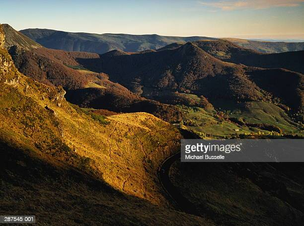 France,Cantal,Puy Mary,volcanic mountains,autumn
