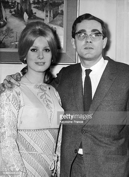 FranceCatherine Deneuve And Michel Legrand 1964