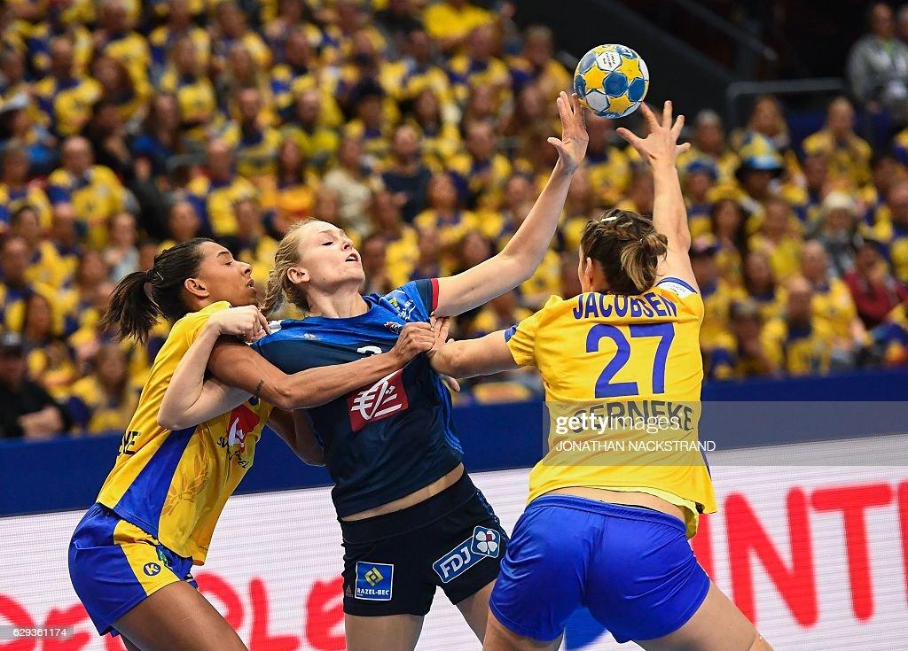 A2 v B2: Group I - Women's European Handball Championships - Sweden