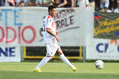 Francelino Matuzalem of Bologna FC in action during the preseason frienldy match between FC Bologna and US Sassuolo on August 6 2014 in Modena Italy