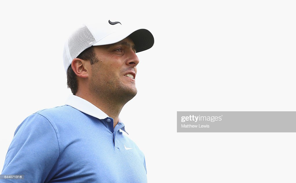 Francencesco Molinari of Italy looks on during day two of the 100th Open de France at Le Golf National on July 1, 2016 in Paris, France.